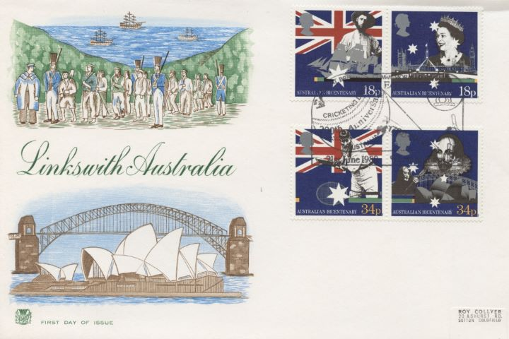 Australian Bicentenary, Links with Australia