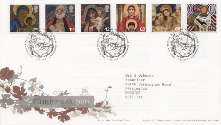 Christmas 2005, Special Handstamp