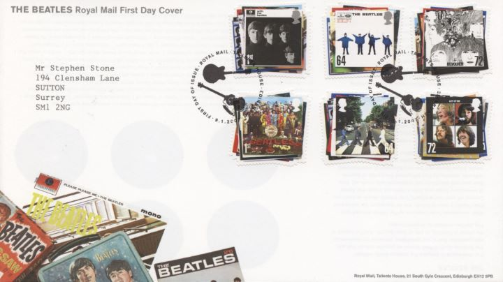 The Beatles, Special Handstamp