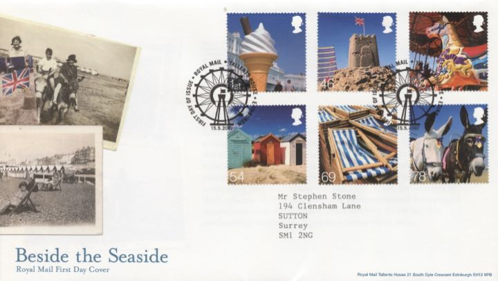 Beside the Seaside, Special Handstamp