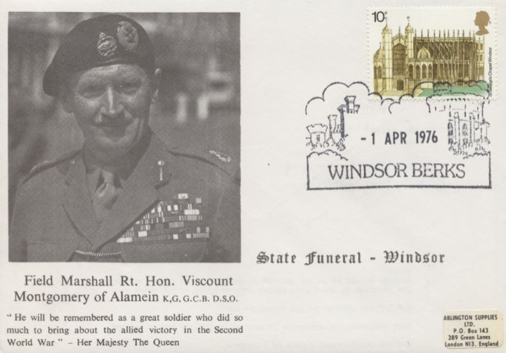 State Funeral, Field Marshall Rt Hon Viscount Montgomery of Alamein