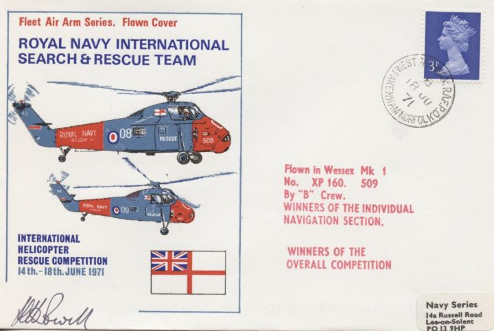 Royal Navy, International Search & Rescue Team