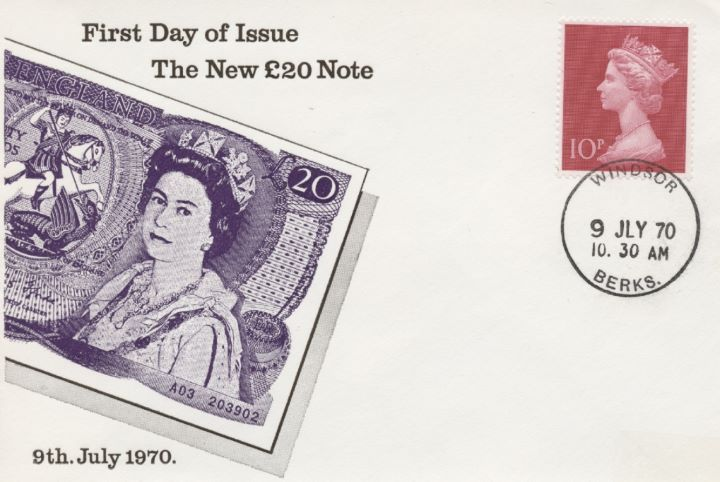 First Day of Issue, The New £20 Note