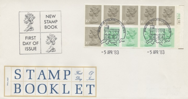 Counter: New Design: £1.46 Postal Hist. 8 (Seahorses), Stamp Booklet