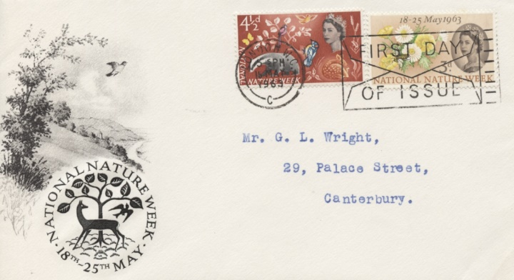 National Nature Week, Slogan Postmark
