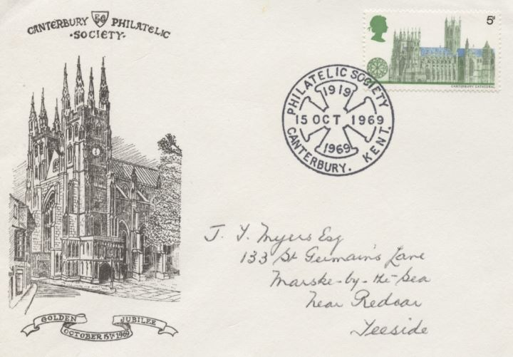 Canterbury Philatelic Society, Golden Jubilee