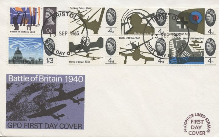 Battle of Britain (Phosphor), GPO Cover