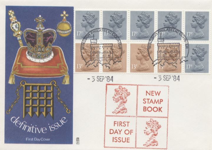 Counter: New Design: £1.54 Postal Hist. 11 (Postage Dues), Coronation Regalia