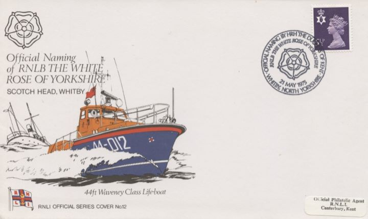 Official Naming , RNLB The White Rose of Yorkshire