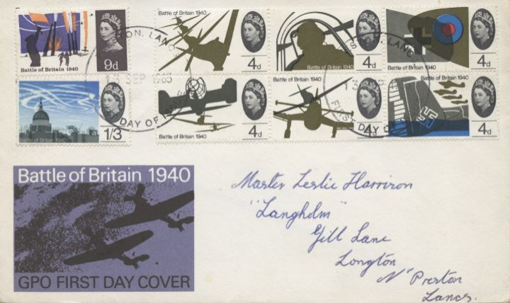 Battle of Britain, GPO Cover