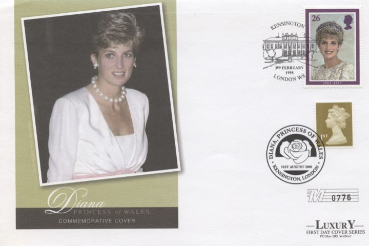 Diana, Princess of Wales, Double Dated 2008