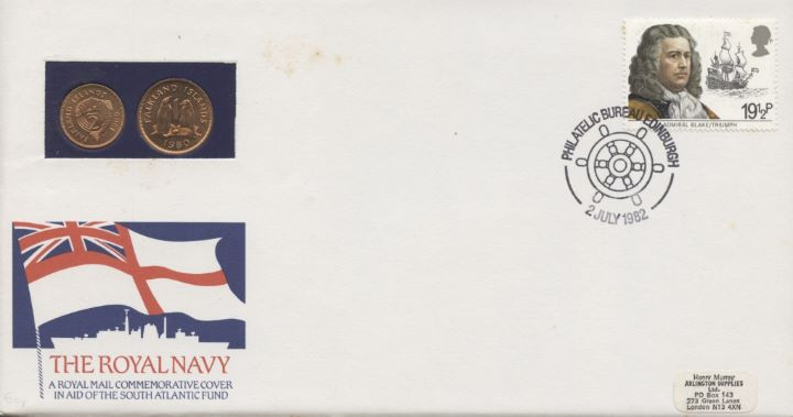 The Royal Navy, Coin Cover
