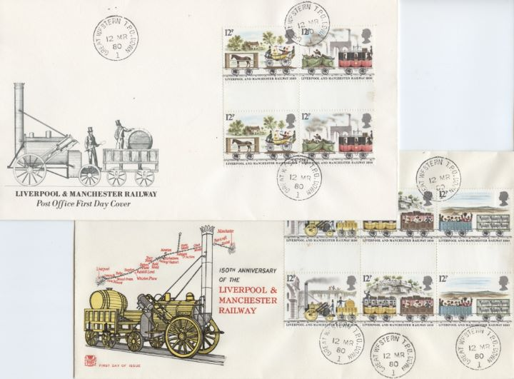 Liverpool & Manchester Rly, Pair of covers
