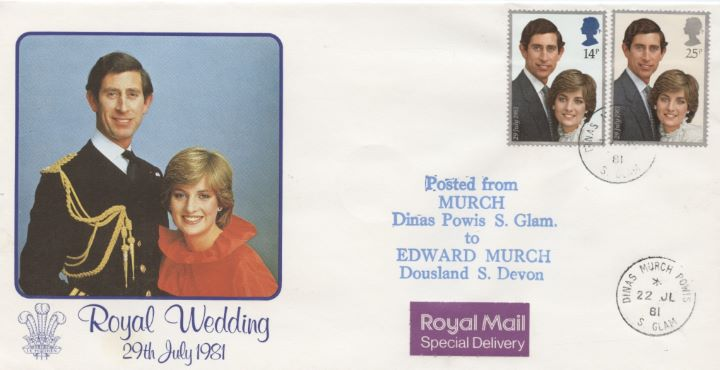 Royal Wedding 1981, Murch Pstmk