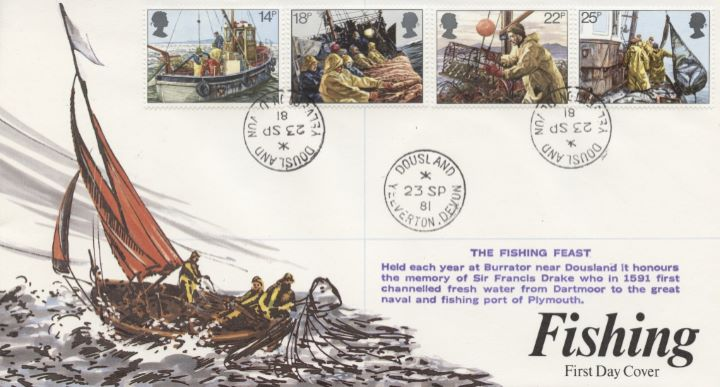 Fishing, CDS postmarks