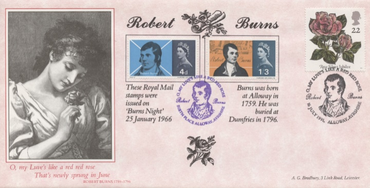 Roses 1991, Robert Burns Special Edition
