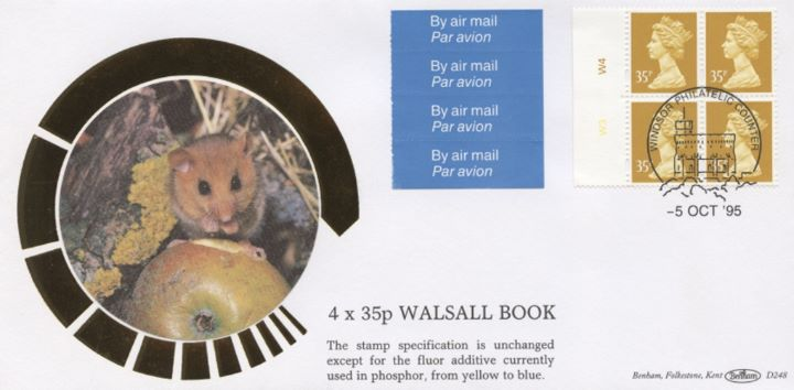 Window: Airmail: £1.40, Dormouse