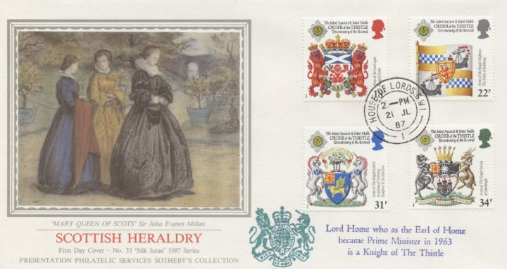 Scottish Heraldry, Mary Queen of Scots