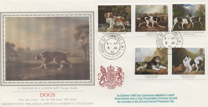 Dogs: Paintings by Stubbs, Pointer