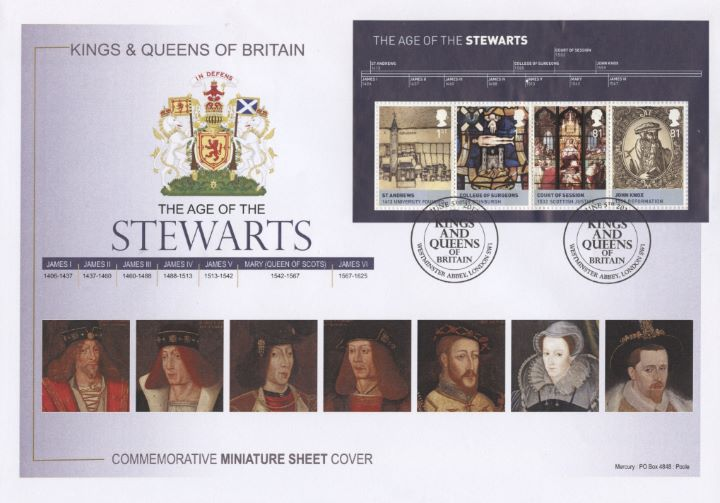 Stewarts, Miniature Sheet