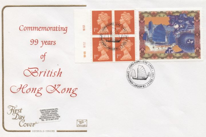 Window: Hong Kong Hand Over, 99 Years of British Hong Kong