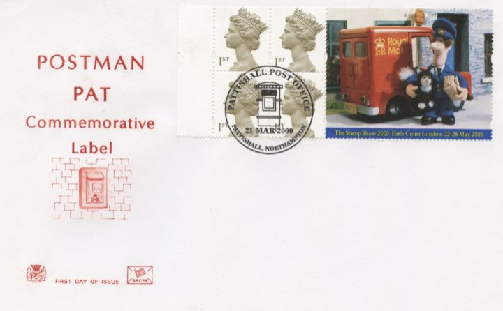 Window: Postman Pat, Postbox