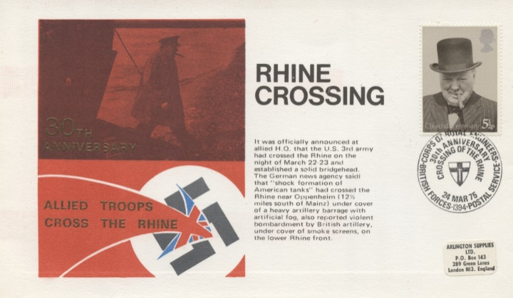 30th Anniversary, Rhine Crossing