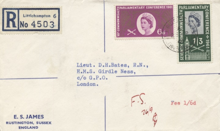 Parliamentary Conference 1961, FDC