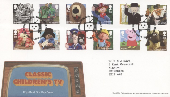 Classic Children's TV, Television set