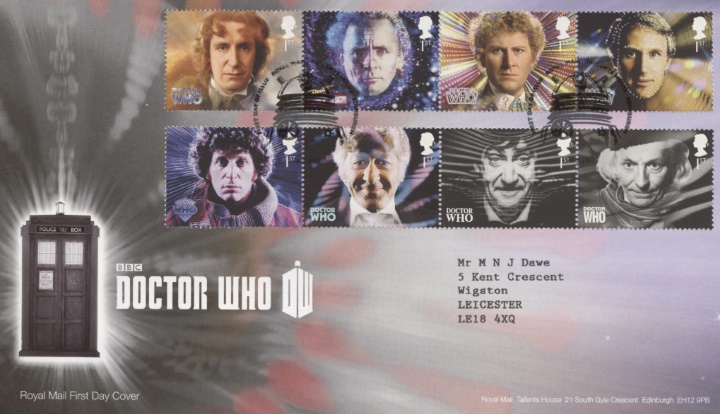 Doctor Who, The first 8 Doctors