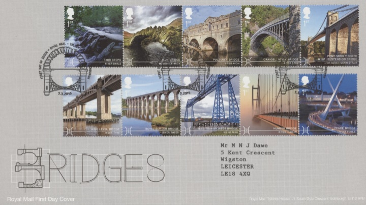 Bridges, Typographic Design