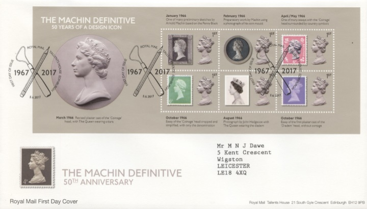 Machin Design Icon: Miniature Sheet, Early Essays