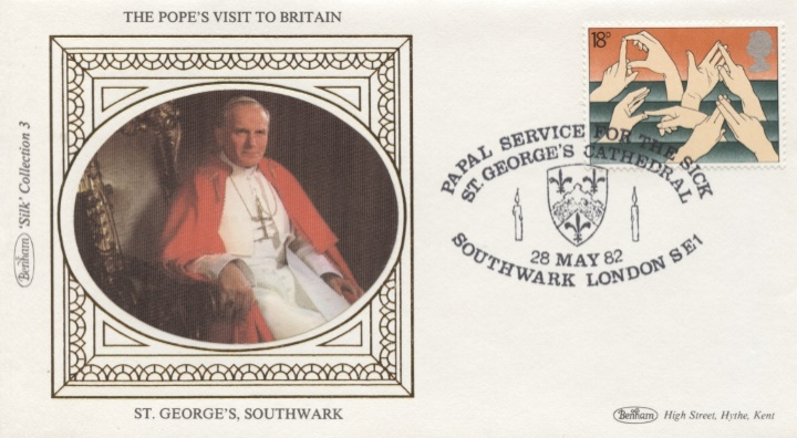 The Popes Visit to Britain, St Georges, Southwark