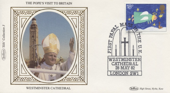 The Popes Visit to Britain, Westminster Cathedral