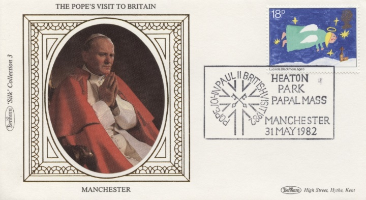 The Popes Visit to Britain, Manchester