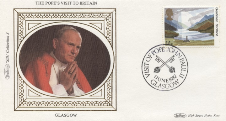 The Popes Visit to Britain, Glasgow