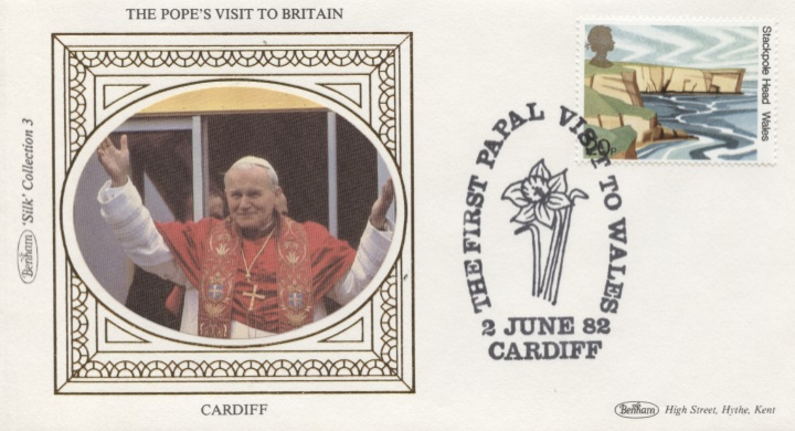 The Popes Visit to Britain, Cardiff