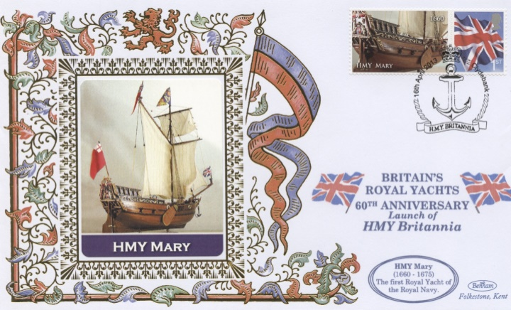 Britiains Royal Yachts, HMY Mary