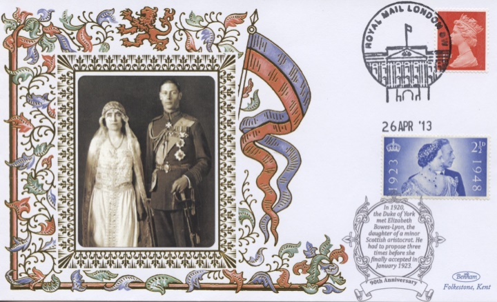 Duke of York & Elizabeth Bowes-Lyon, 90th Anniversary