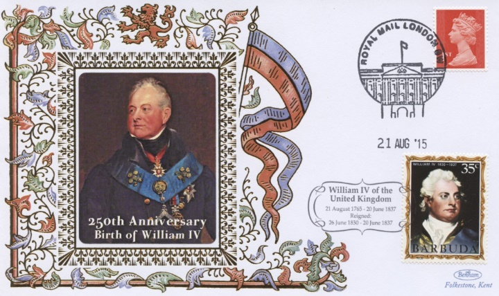 250th Anniversary, William IV