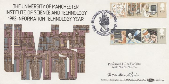 Information Technology, Signed cover