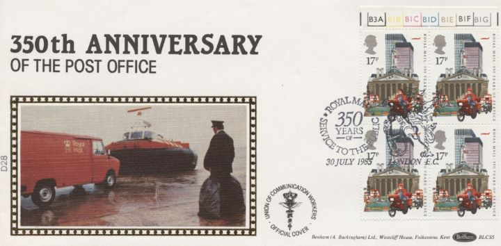 The Royal Mail, 17p Booklet