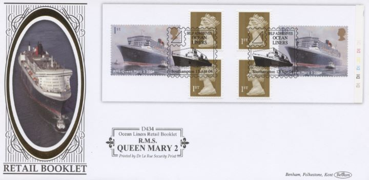 Self Adhesive: Ocean Liners, RMS Queen Mary 2