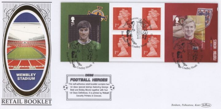 Self Adhesive: Football Heroes (1), Wembley Stadium