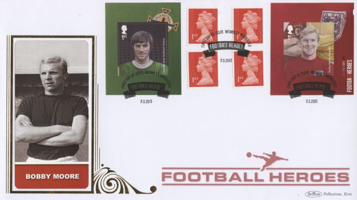 Self Adhesive: Football Heroes (1), Bobby Moore
