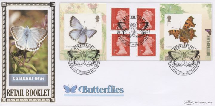 Self Adhesive: Butterflies, Chalkhill Blue