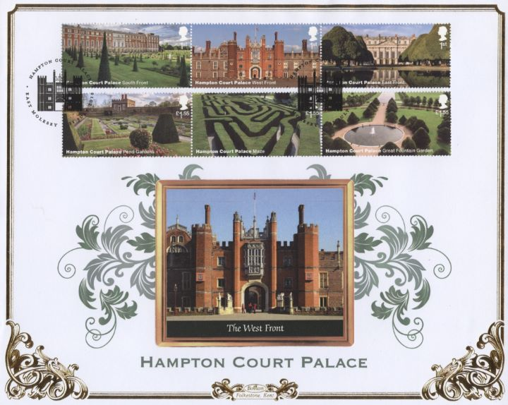 Hampton Court, The West Front