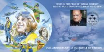 15.09.2015 75th Anniversary of Battle of Britain Reach for the Skies Bradbury, BFDC No.337
