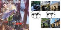05.03.2015 Bridges Forth Railway Bridge Bradbury, BFDC No.305