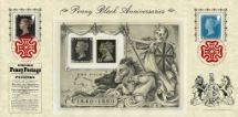 06.05.2015 Penny Black: Miniature Sheet Penny Black Anniversaries Bradbury